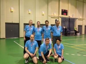 B-rækkens Sølvmedaljevindere